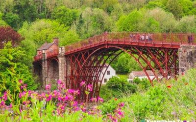 Day Trip Visiting The Iron Bridge in Telford, Shropshire (UK)