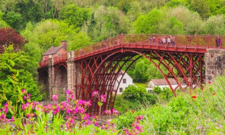 Day Trip Visiting The Iron Bridge in Telford, Shropshire (UK)