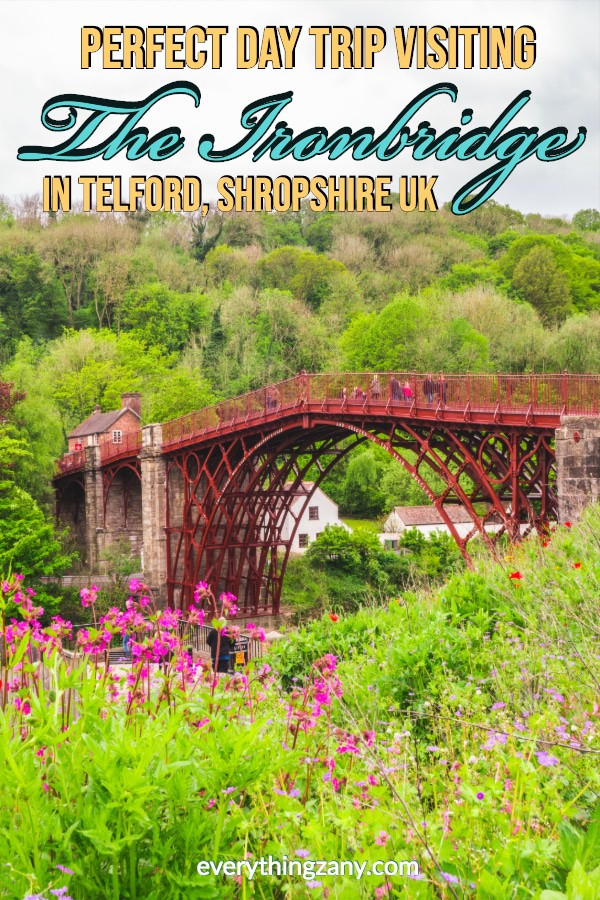 Day Trip Visiting The Ironbridge in Telford (UK)
