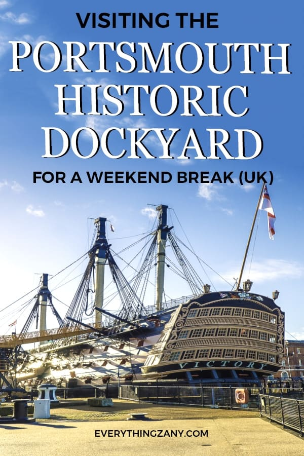 HMS Victory in Portsmouth Historic Dockyard