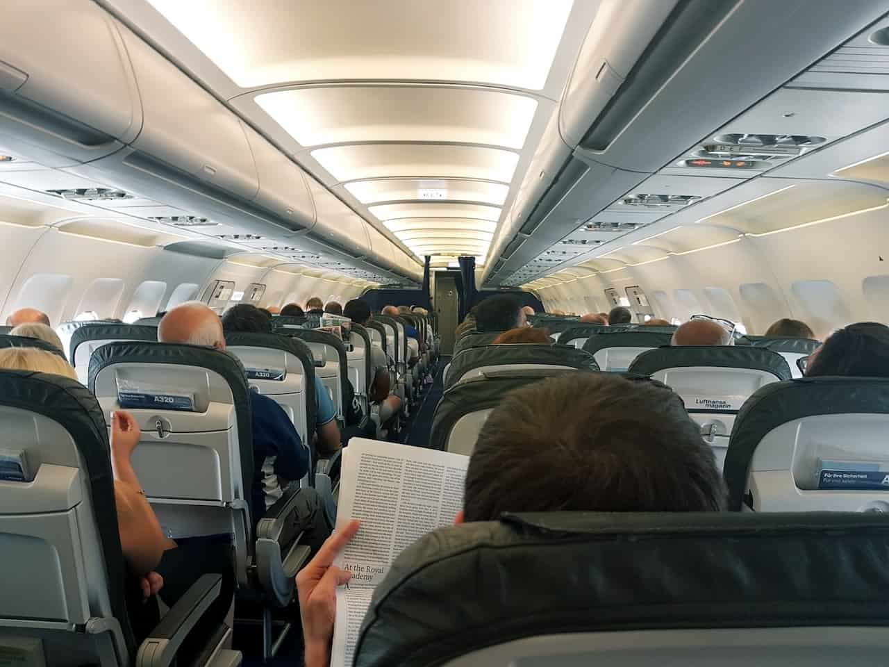 Inside the Airplane Cabin
