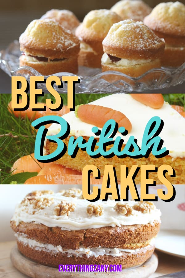List of the Best and Most Famous Types of British Cakes to Eat in the UK