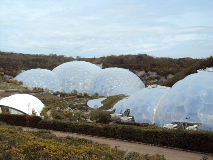 Eden Project in Cornwall UK