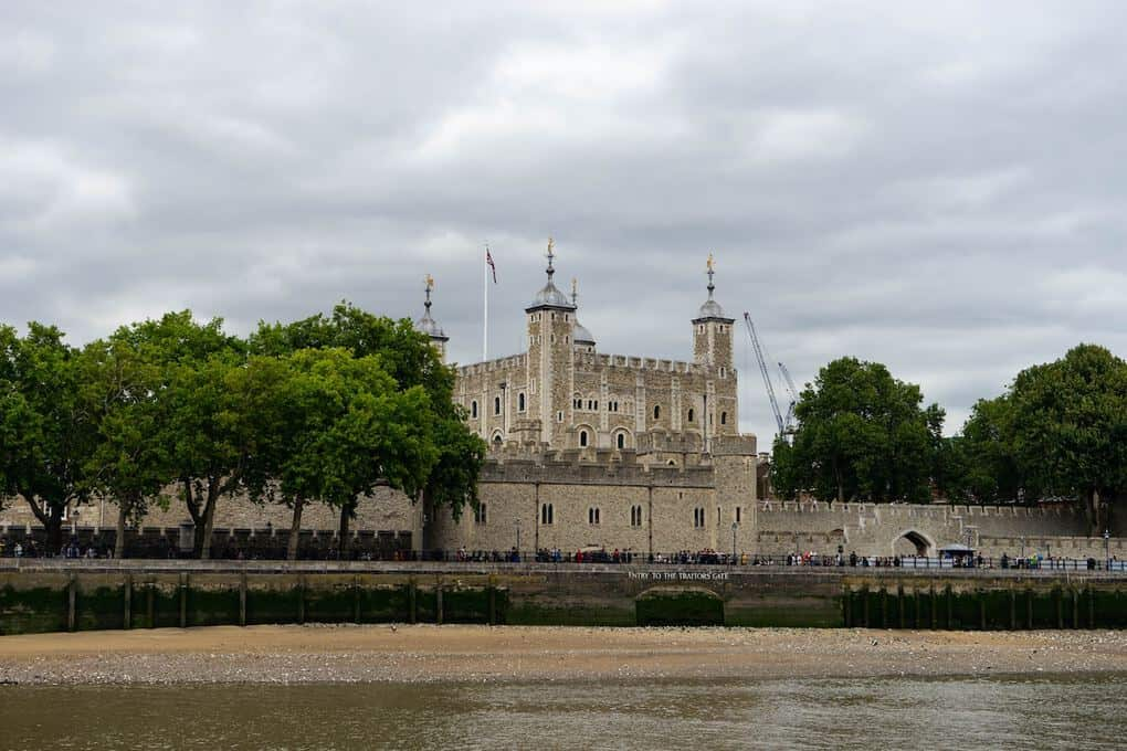 Tower of London in London UK