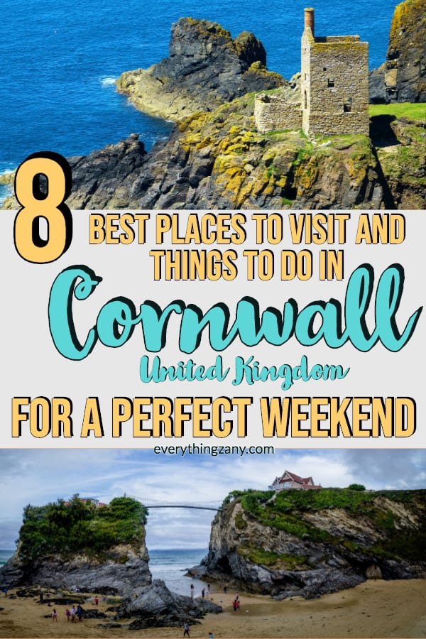 Best Places to Visit and Things to do in Cornwall for a Perfect Weekend