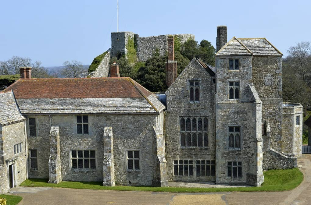 Carisbrook Castle Isle of wight