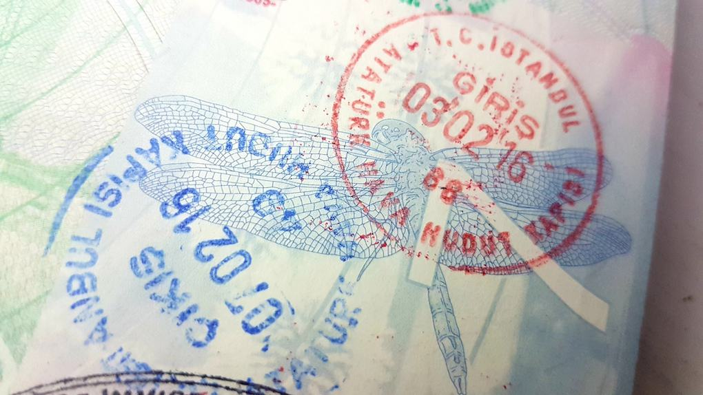 Turkey Arrival Stamp for UK Passport Visa Free countries