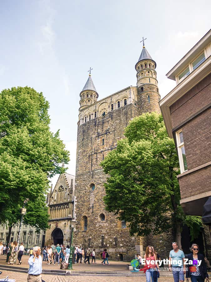 Basilica of Our Lady in Maastricht Netherlands