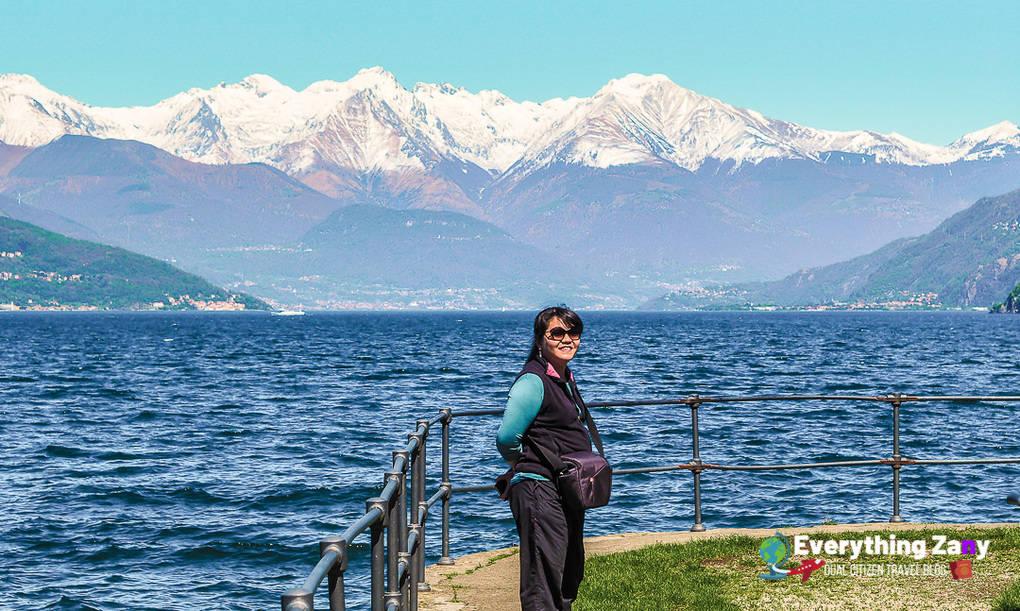 Bellagio Viewing Deck of Lake Como and Lecco