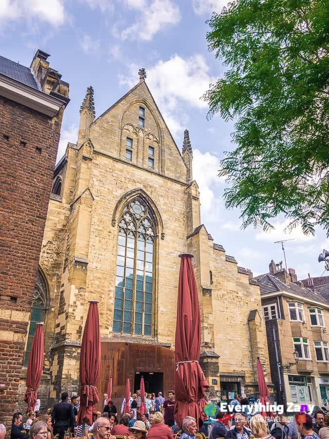 Bookstore Dominicanen in Maastricht Netherlands