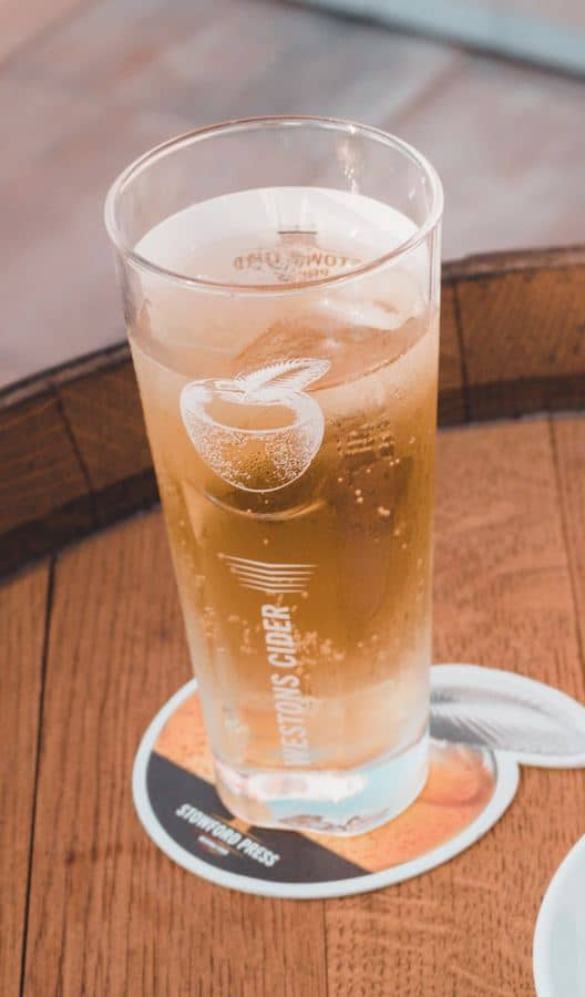 Cider British Pub Drinks