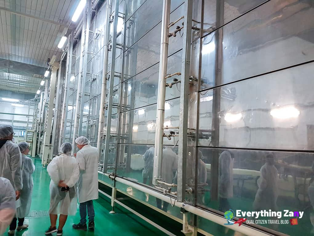 Delverde Pasta Factory Drying Stage