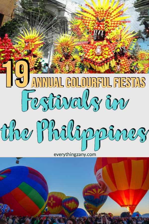 Festivals in the Philippines: List of the Annual Colourful Fiestas