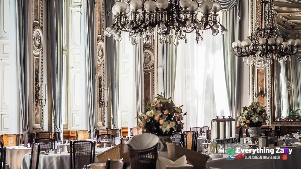 Grand Ballroom for the Breakfast Hall of Grand Hotel Villa Serbelloni