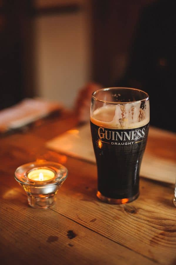 Guinness Stout British Pub drink