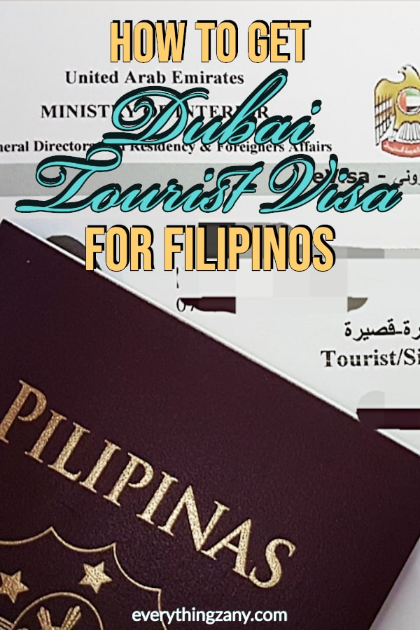 How to Get Dubai Tourist Visa for Filipinos Around the World