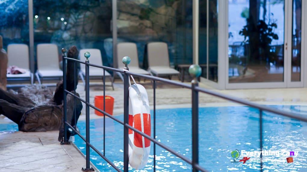 Indoor Swimming Pool of Grand Hotel Villa Serbelloni in Lake Como