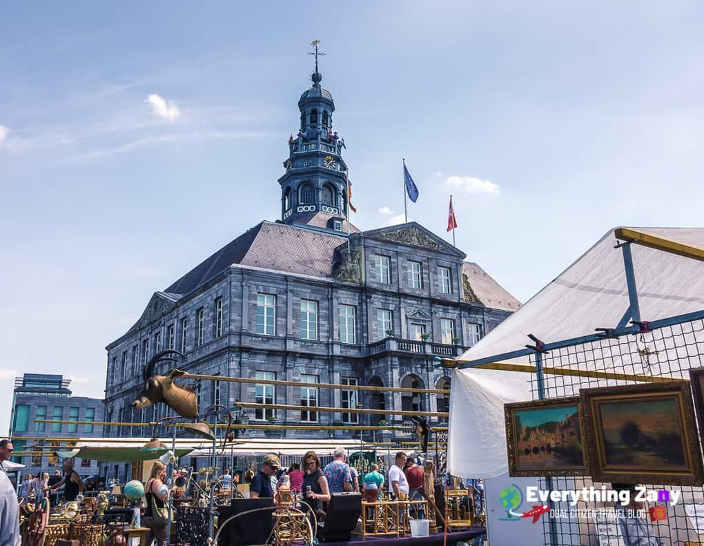 Maastricht Market for Shopping