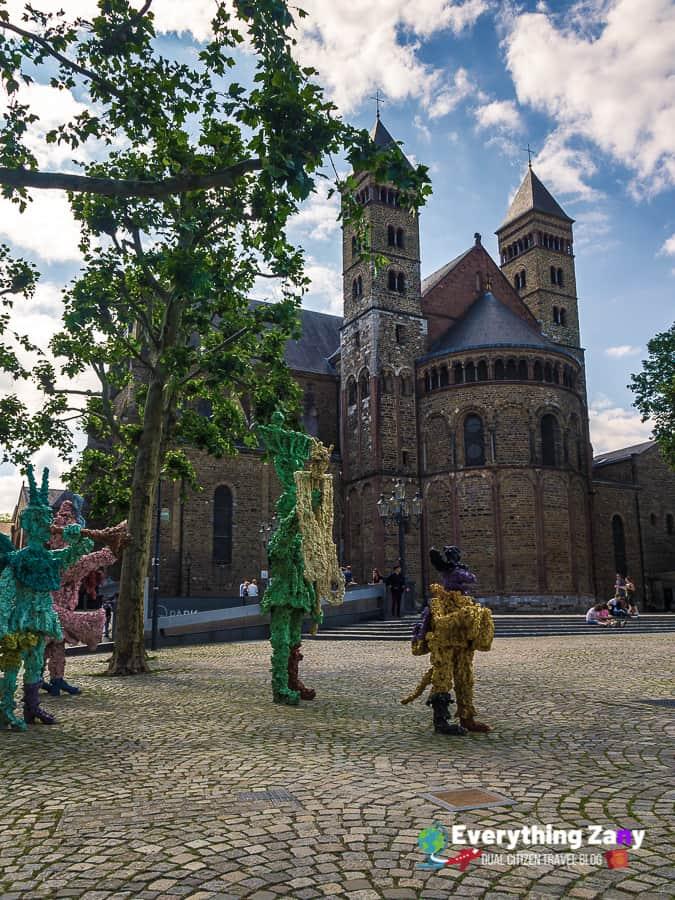 Saint Servatius Basilica in Maastricht Netherlands