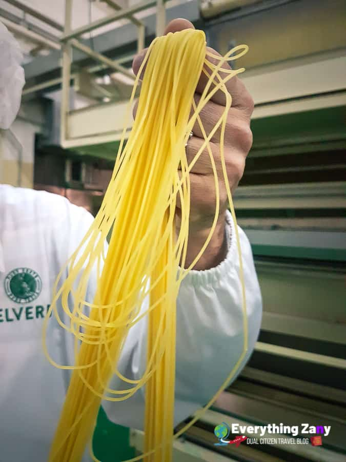 what is pasta made of delverde pasta in abruzzo italy