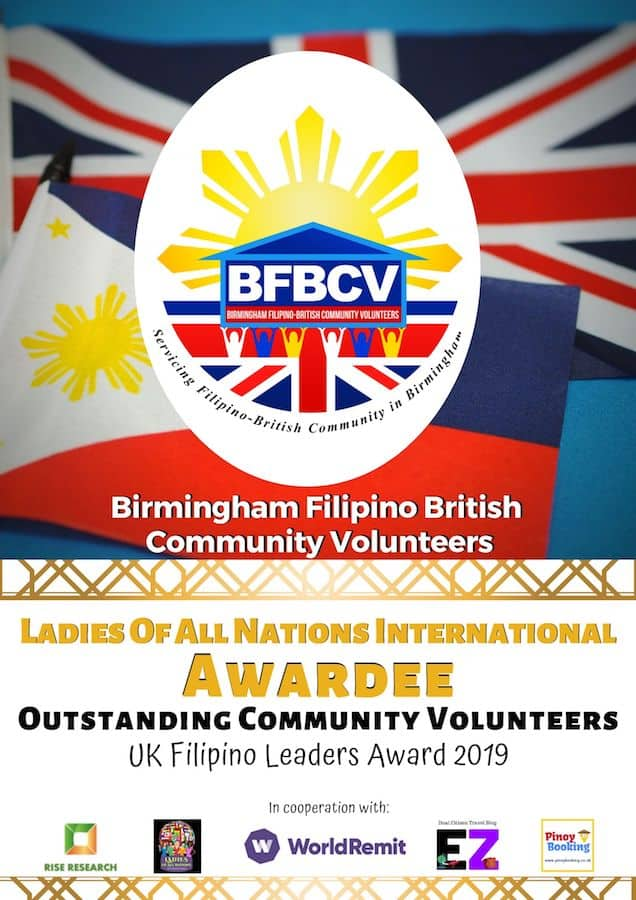 BIRMINGHAM FILIPINO BRITISH COMMUNITY VOLUNTEERS