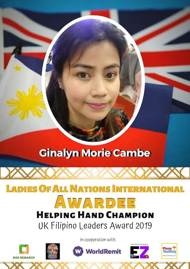 GINALYN MORIE CAMBE
