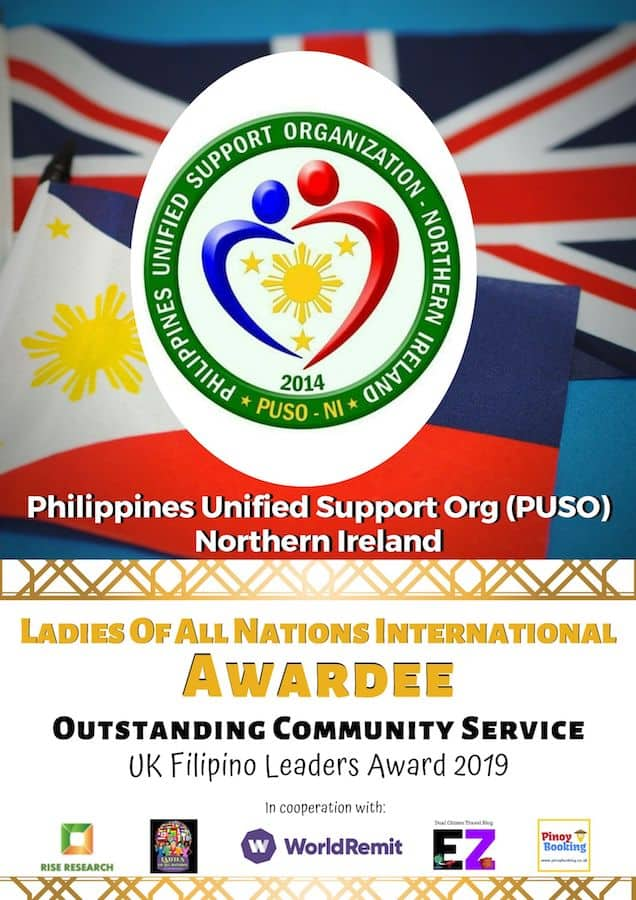 Philippines Unified Support Org Northern Ireland