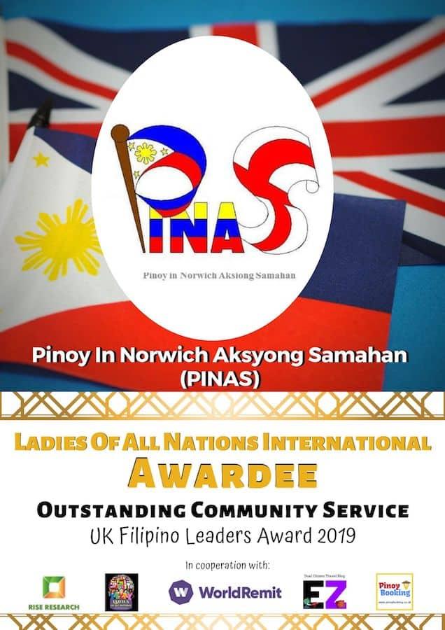 Pinoy in Norwich Aksyong Samahan