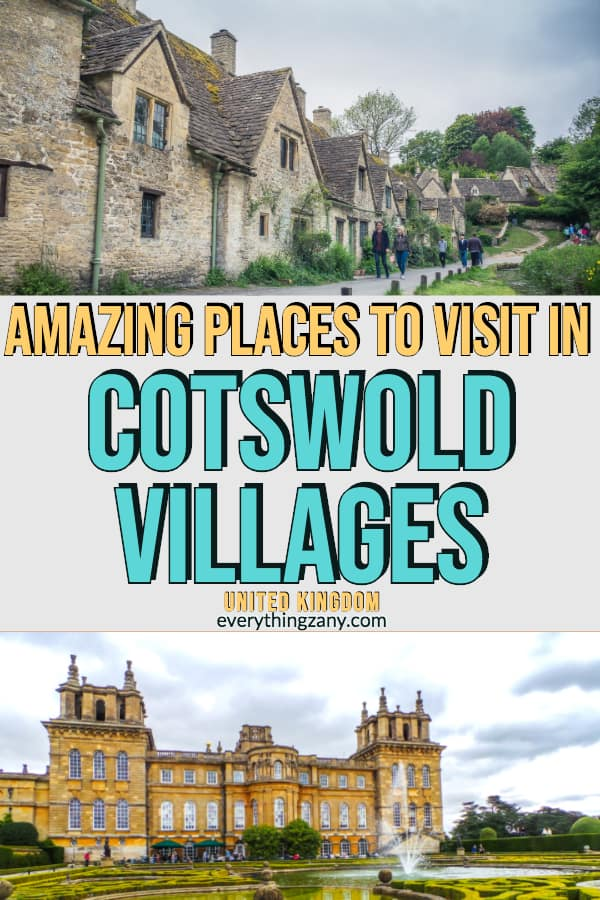 Amazing Places to Visit and Things to Do in the Cotswolds Villages (UK)