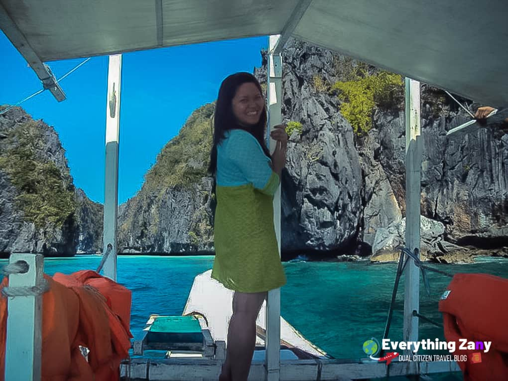 El Nido tours packages in the Big Lagoon part of Island Hopping