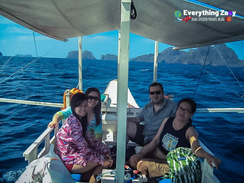 Island hopping in El Nido tour A